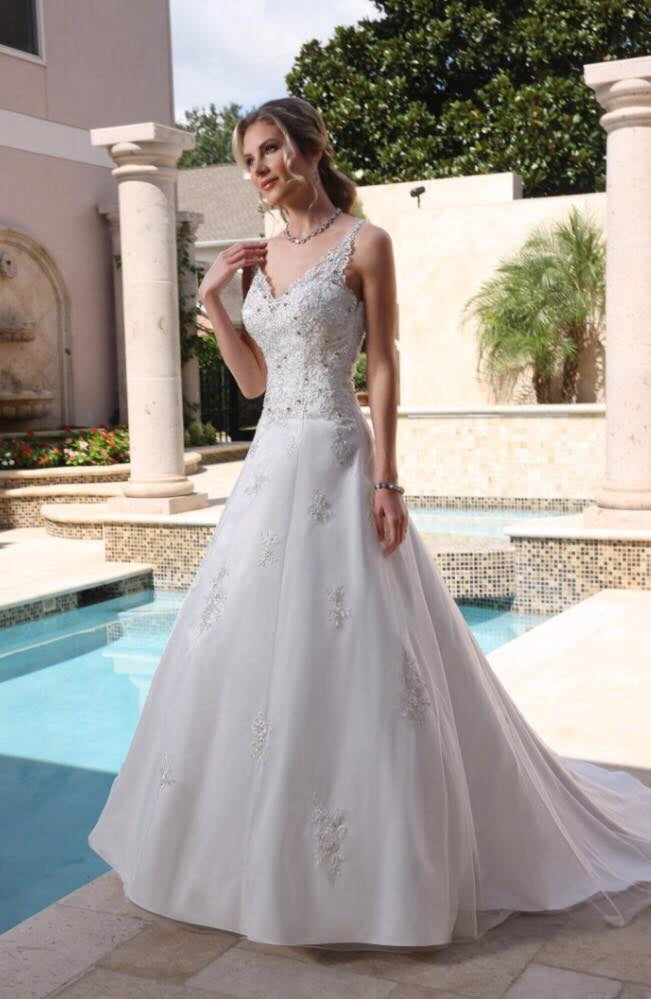 Da Vinci Bridal Wedding Dress 50368