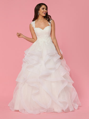Da Vinci Bridal Wedding Dress 50442