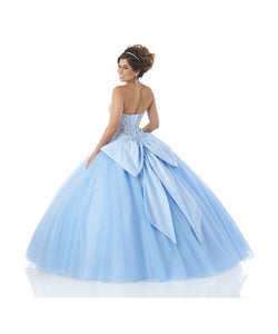 Bonny Bloom Full Tulle Ballgown Quinceañera 5545