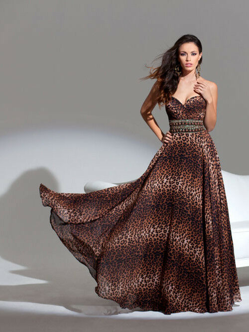 Tony Bowls Le Gala Prom Dress 115548 Leopard