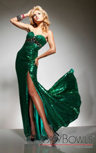 Load image into Gallery viewer, Tony B Prom Dress 2351313 Emerald