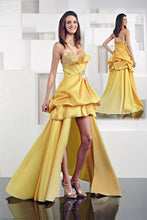 Load image into Gallery viewer, Xcite High Low Bubble Skirt Prom Dress 30005 Yellow