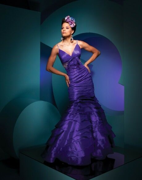 Tony Bowls Prom Dress 111706 Purple