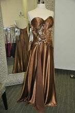 Load image into Gallery viewer, Tony Bowls Grad Prom Dress 111L50 Brown