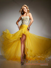 Load image into Gallery viewer, Tony Bowls Prom Dress TB2351323 Yellow