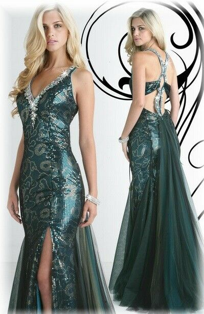 Xcite Snakeskin Sequin Prom Dress 30234 Black Multi