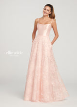Load image into Gallery viewer, Ellie Wilde Lace A-Line Gown w/ Pockets EW119037