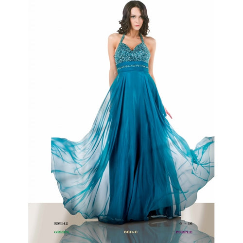 Romance Couture Irresdecent Chiffon Gown RM142