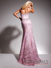 Load image into Gallery viewer, Tony B Pink Sequin Corset Gown TB2351325