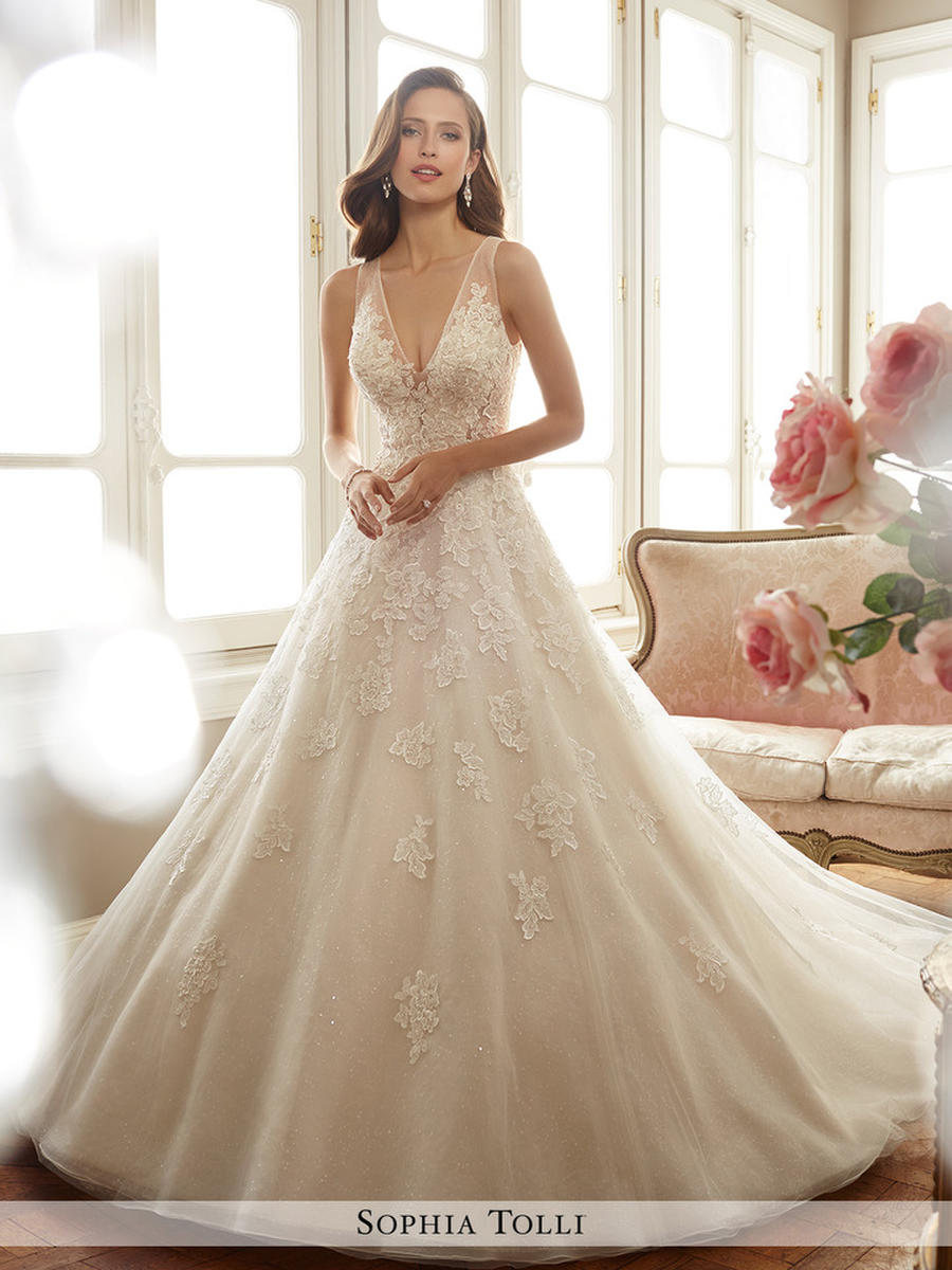Sophia Tolli Wedding Gown Y11701 Ciel