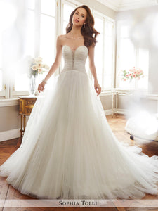 Sophia Tolli Wedding Gown Y11703 Colette
