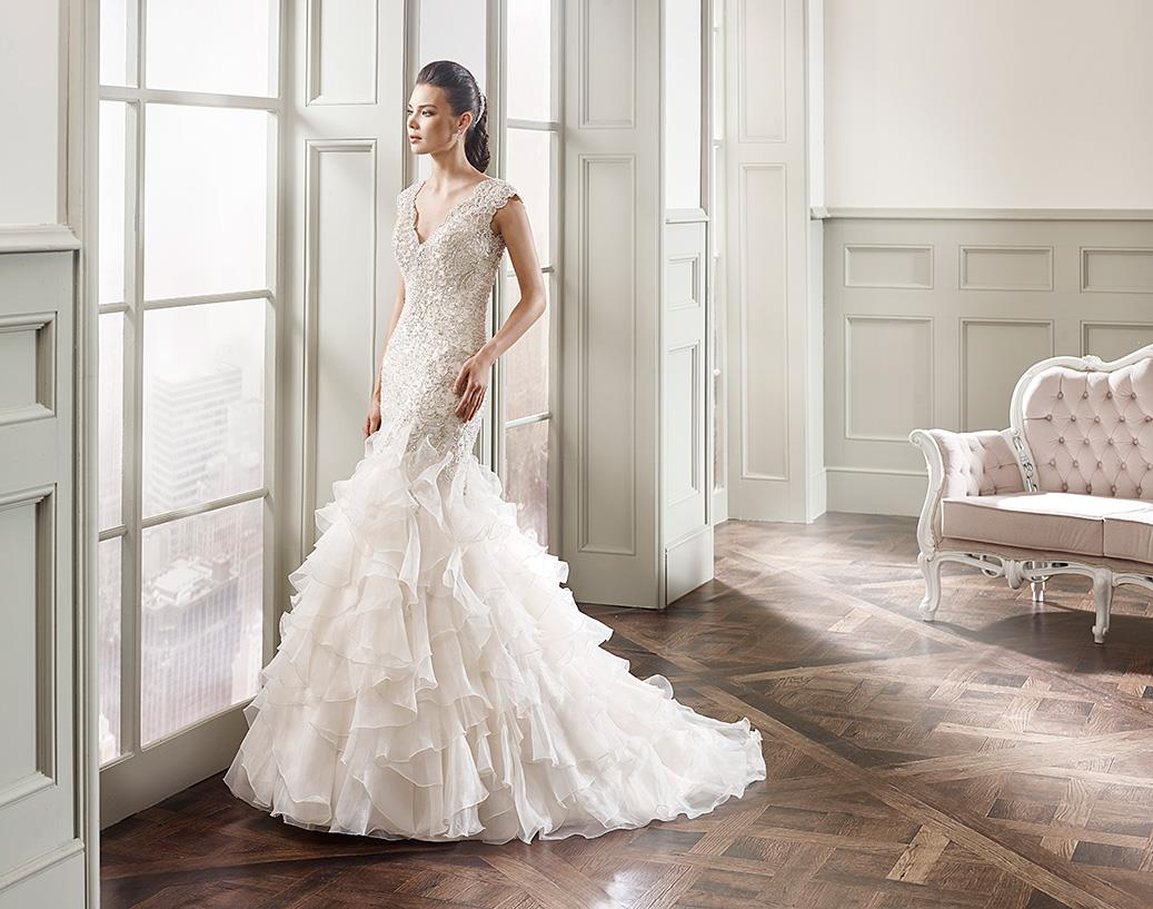 Eddy K Couture Bridal Wedding Gown CT153