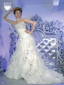 Divina Sposa Kelly Star Wedding Gown KS106-15