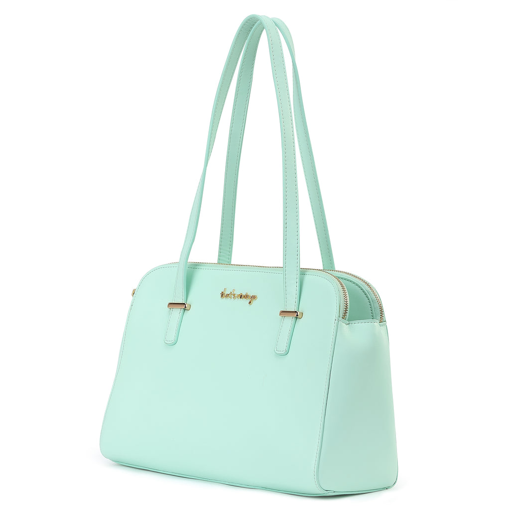 Powder Mint mint handbag