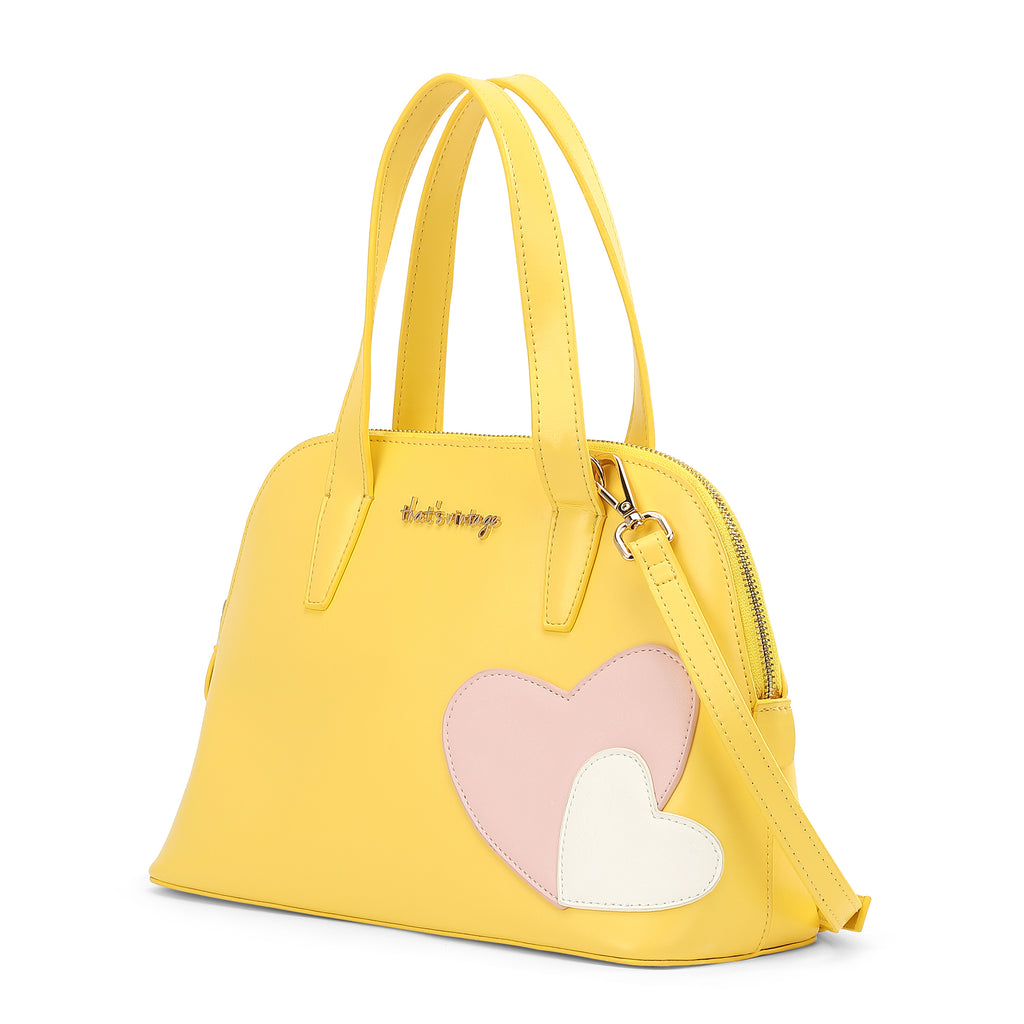 Bowl Me Away yellow bag
