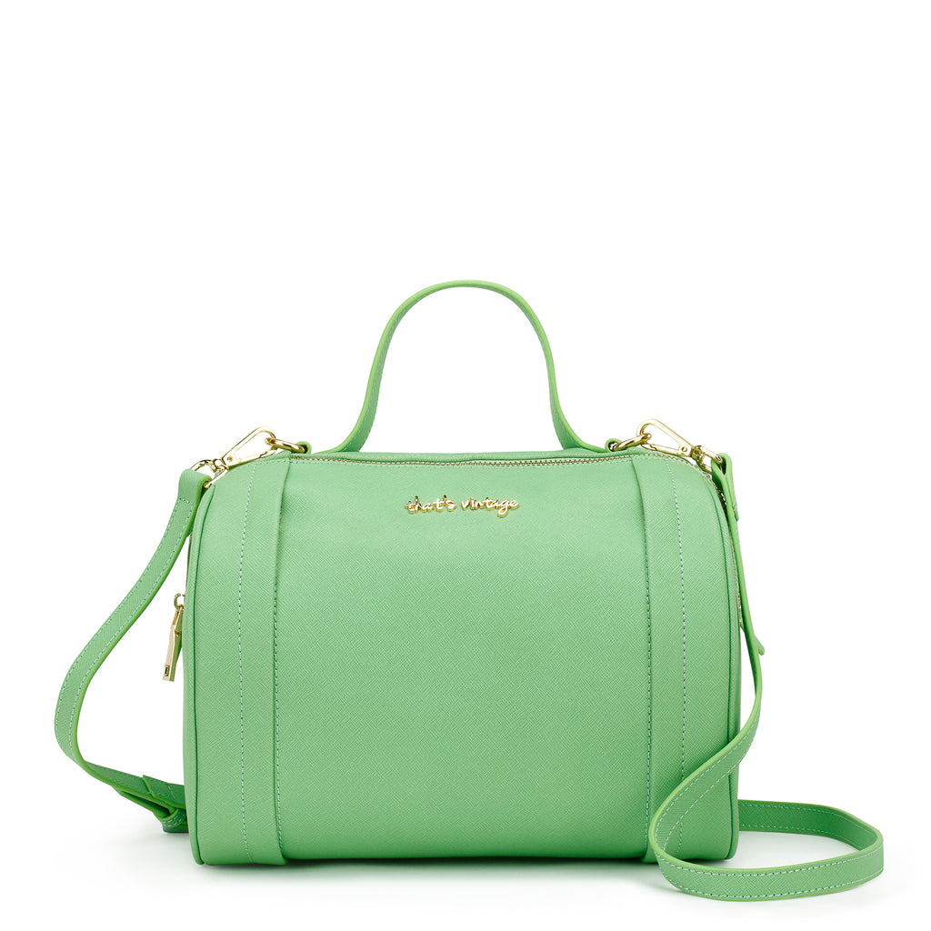 Shades of Cyan green bag