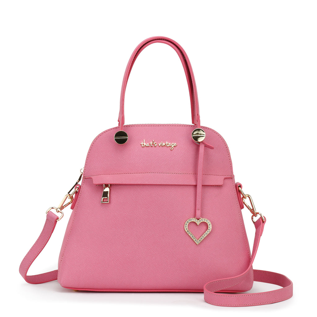 Shades That Compliment pink bag