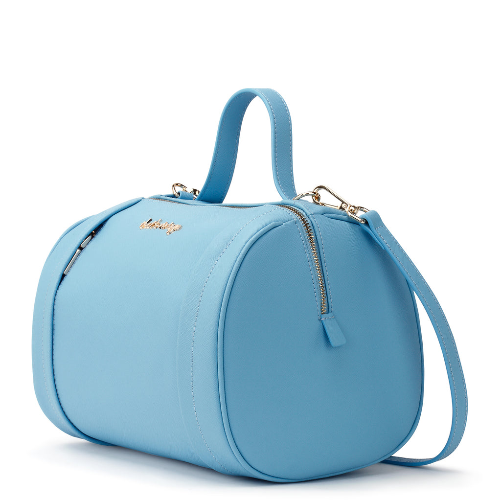 Shades of Cyan blue bag