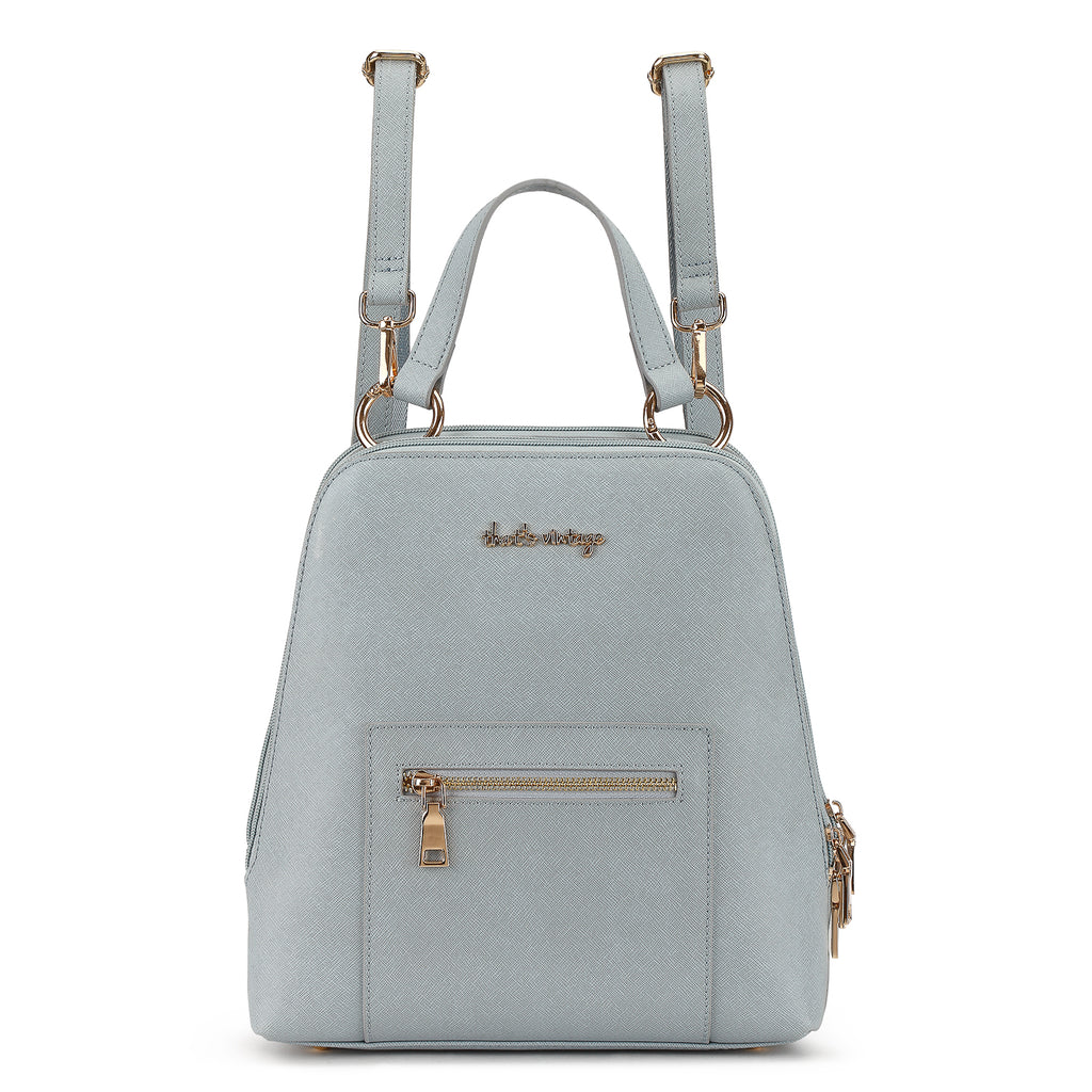 Grey is Back grey backpack