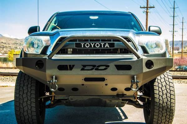 DEMELLO OFF-ROAD TACOMA SINGLE HOOP FRONT BUMPER 12-15
