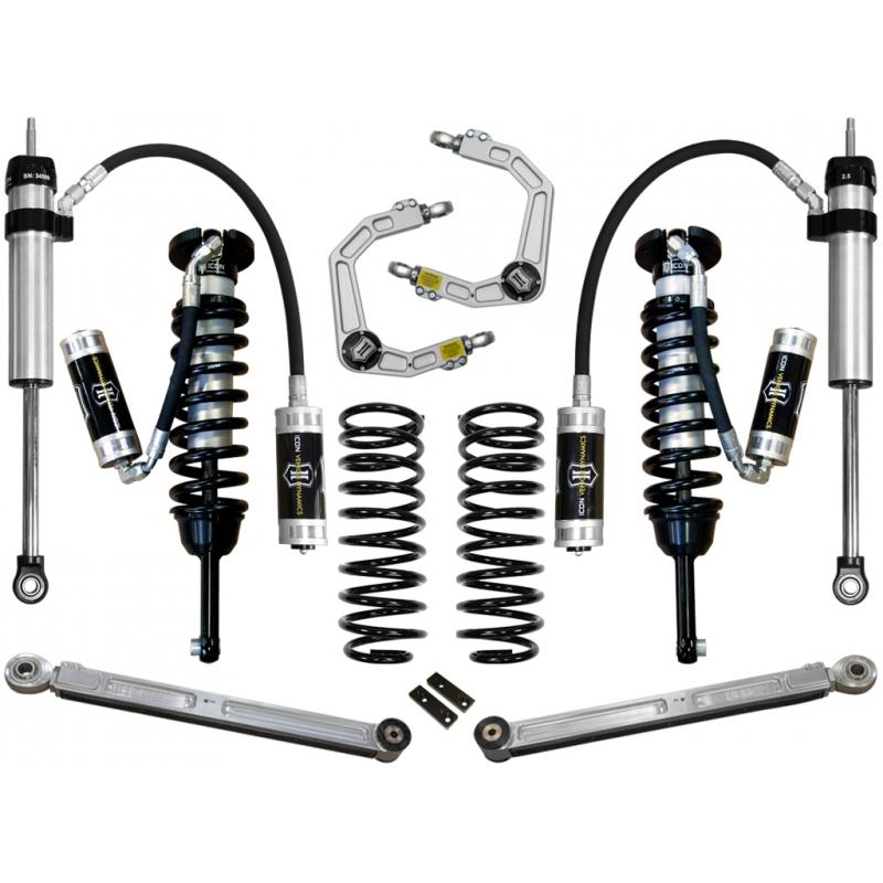 "03-09 4RUNNER/FJ 0-3.5"" STAGE 5 SUSPENSION SYSTEM W BILLET UCA"