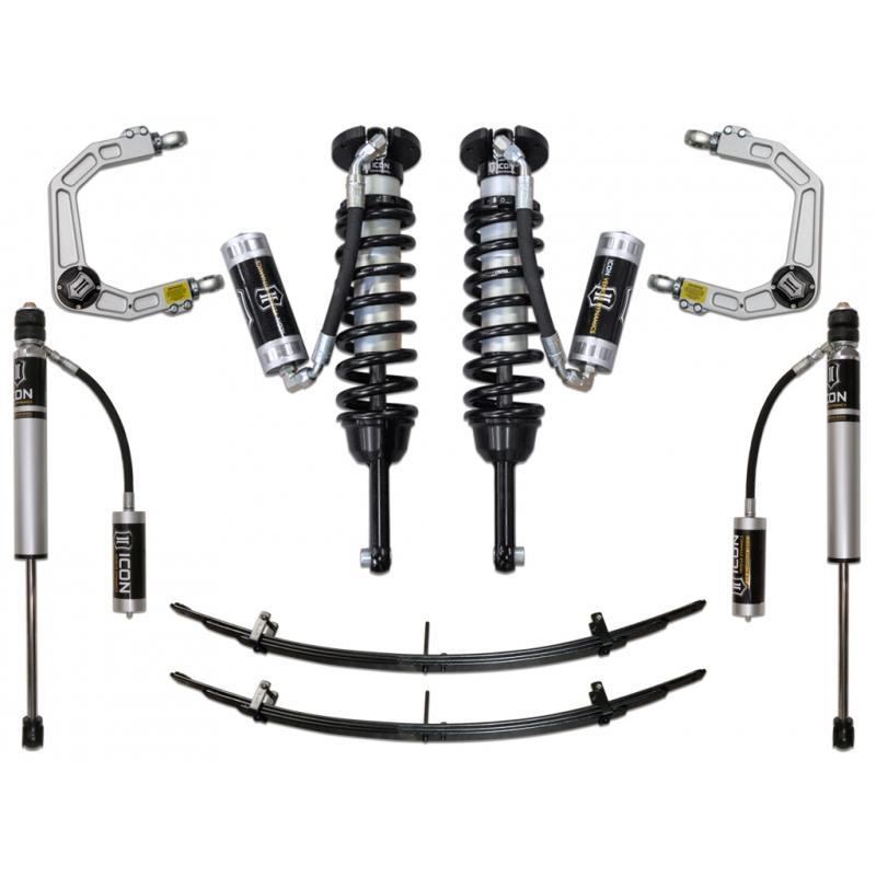 "05-15 TACOMA 0-3.5""/ 16-UP 0-2.75"" STAGE 4 SUSPENSION SYSTEM W BILLET UCA"