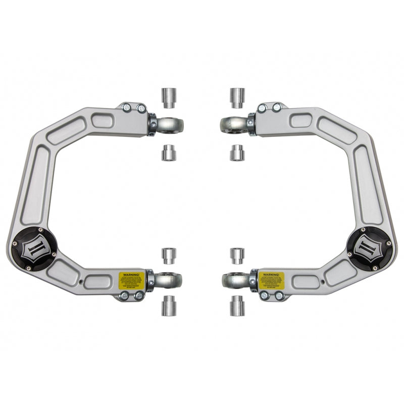 2005-UP Toyota Tacoma Delta Joint Billet Aluminum Upper Control Arm Kit