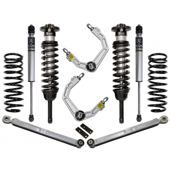 "10-UP FJ/10-UP 4RUNNER 0-3.5"" STAGE 3 SUSPENSION SYSTEM W BILLET UCA"