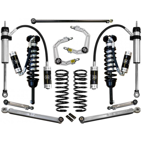 "10-UP FJ/10-UP 4RUNNER 0-3.5"" STAGE 6 SUSPENSION SYSTEM W BILLET UCA"