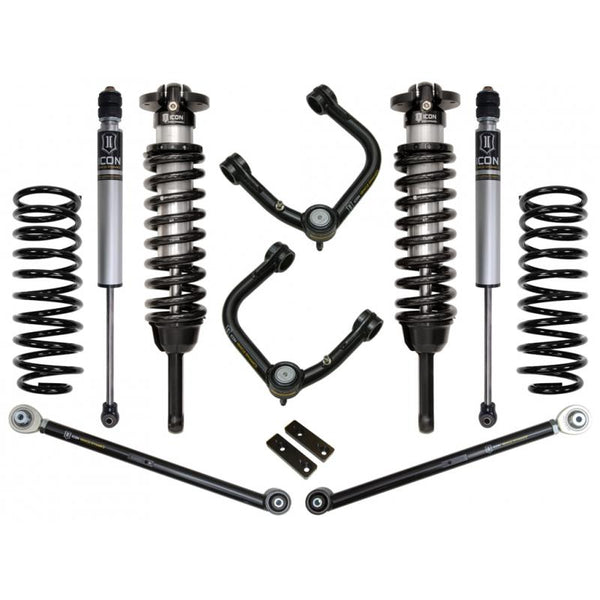"10-UP FJ/10-UP 4RUNNER 0-3.5"" STAGE 3 SUSPENSION SYSTEM W TUBULAR UCA"