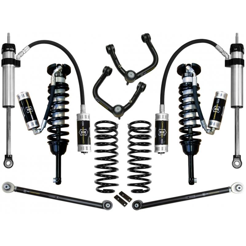 "10-UP FJ/10-UP 4RUNNER 0-3.5"" STAGE 5 SUSPENSION SYSTEM W TUBULAR UCA"