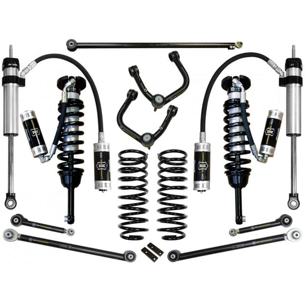 "10-UP FJ/10-UP 4RUNNER 0-3.5"" STAGE 6 SUSPENSION SYSTEM W TUBULAR UCA"