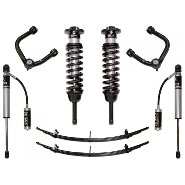 "16-UP TACOMA 0-3.5""/ 16-UP 0-2.75"" STAGE 3 SUSPENSION SYSTEM W TUBULAR UCA"