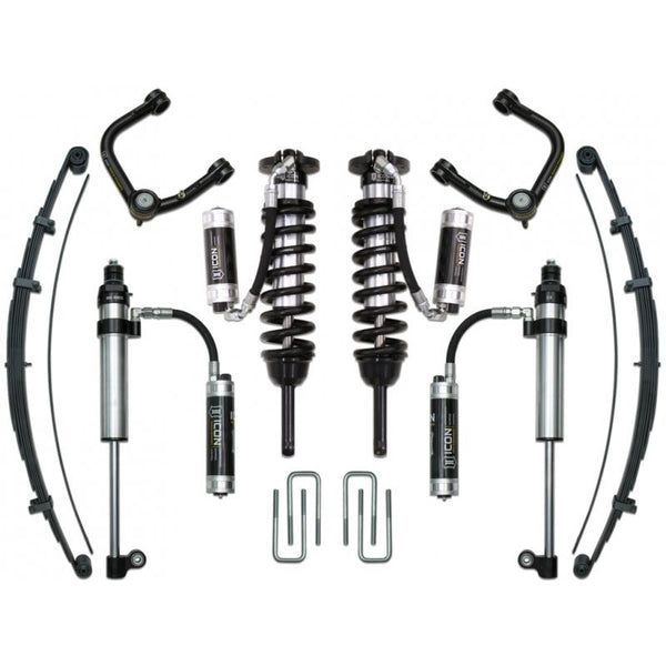 "16-UP TACOMA 0-3.5""/ 16-UP 0-2.75"" STAGE 9 SUSPENSION SYSTEM W TUBULAR UCA"