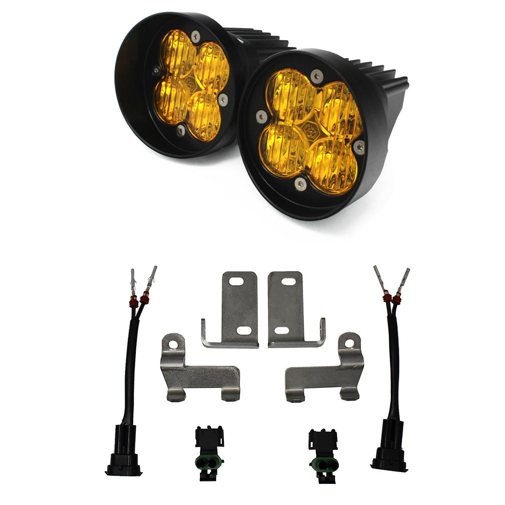Toyota LED Light Kit Amber Lens Tacoma/Tundra/4Runner Squadron Sport WC Baja Designs