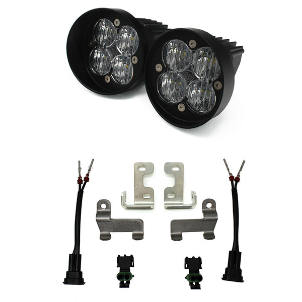 Toyota Tacoma (12-current)/Tundra (14-current)/4Runner (10-current), Squadron SAE Fog Light Kit