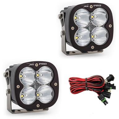 LED Light Pods High Speed Spot Pattern Pair XL Pro Series Baja Designs