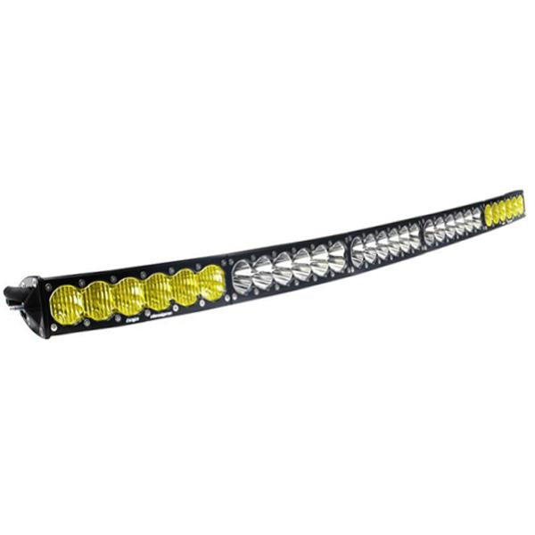 50 Inch LED Light Bar Amber/White Dual Control Pattern OnX6 Arc Series Baja Designs