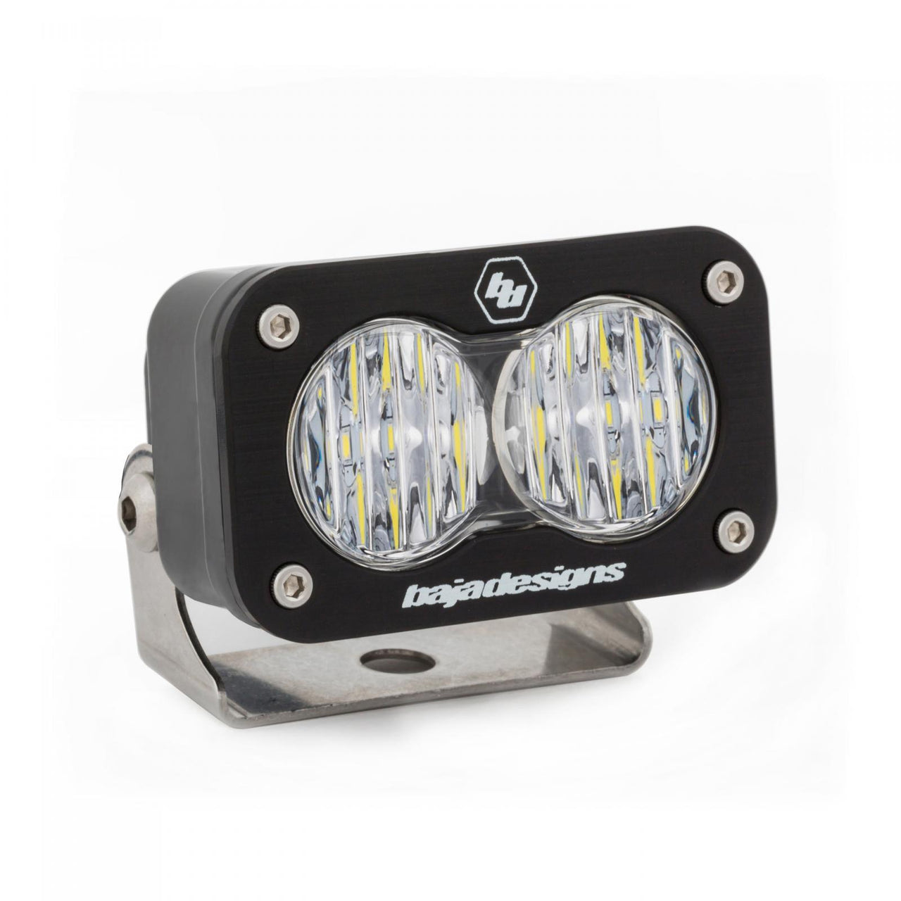 LED Work Light Clear Lens Wide Cornering Pattern Each S2 Sport Baja Designs