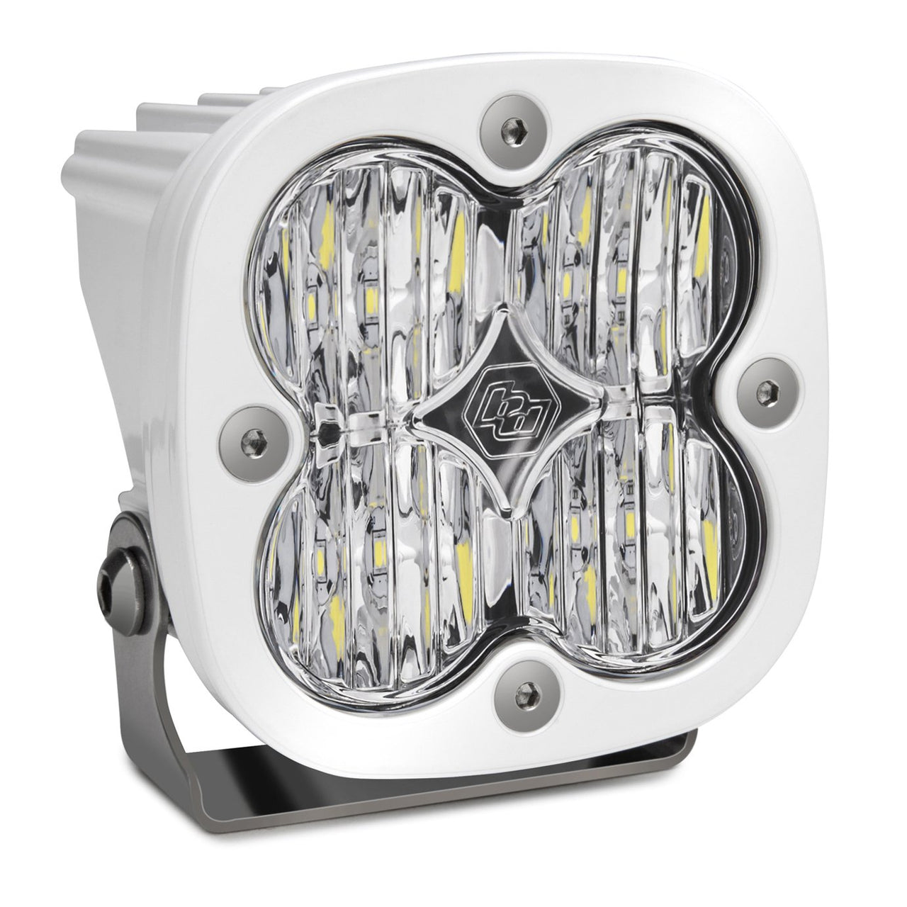 LED Light Pod Wide Cornering Pattern Clear White Squadron Sport Baja Designs