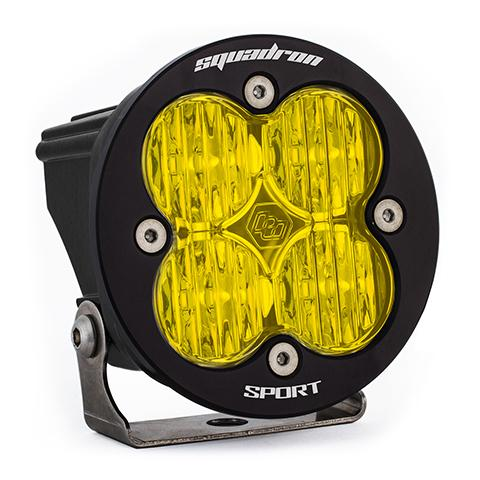 LED Light Pod Amber Lens Wide Cornering Pattern Each Squadron R Sport Baja Designs