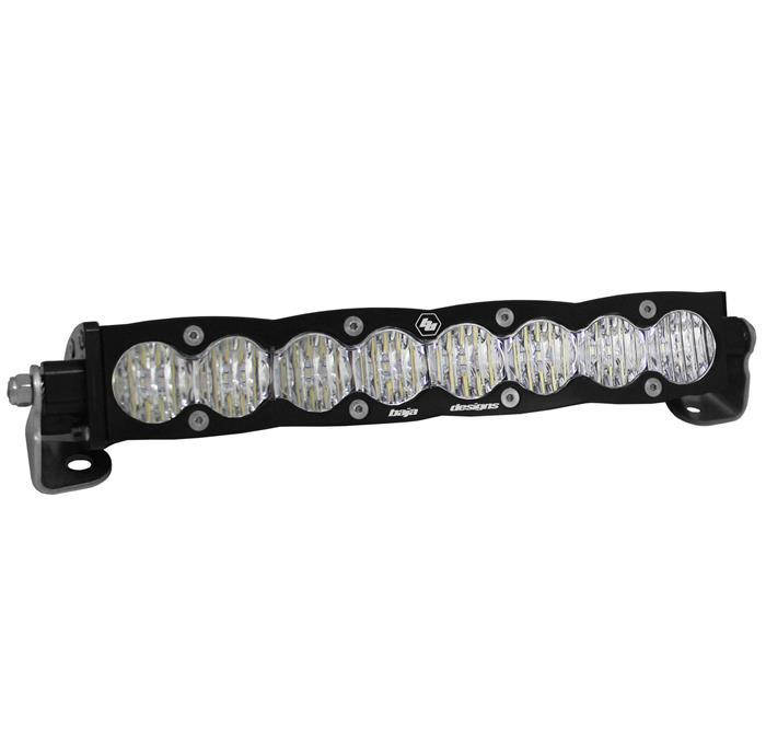 20 Inch LED Light Bar Single Amber Straight Wide Driving Pattern S8 Series Baja Designs