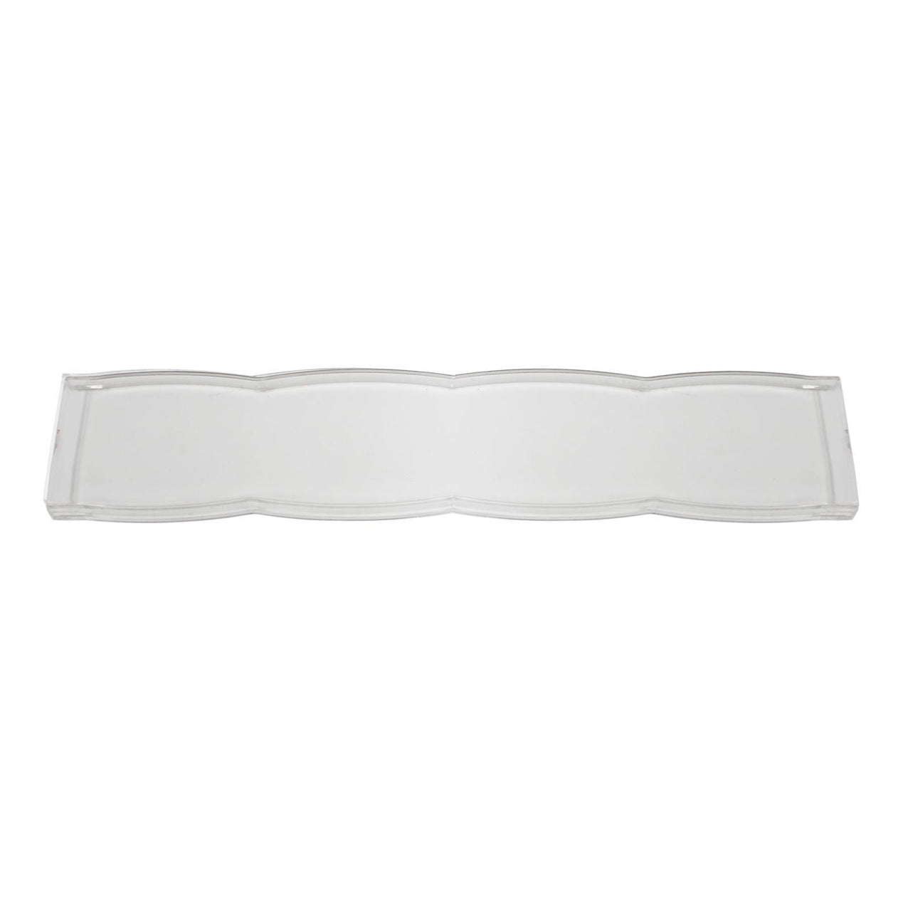 10 Inch Rock Guard Light Bar Cover Clear Baja Designs