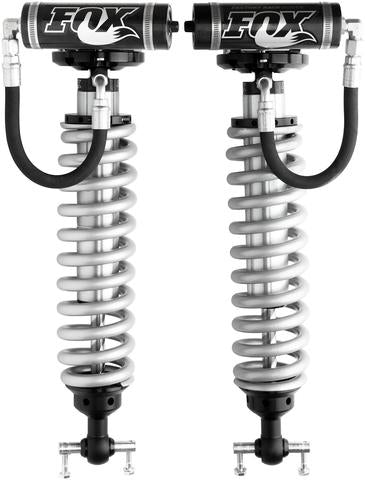 "Fox 2.5 Factory Series Coilovers w/ Reservoir Front Pair for 2005-2019 Toyota Tacoma 4WD RWD w/4-6"" lift"