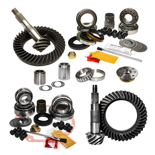 95.5-04 Toyota Tacoma (w/E-locker) & 96-02 Toyota 4Runner, 4.88 Nitro Gear Package