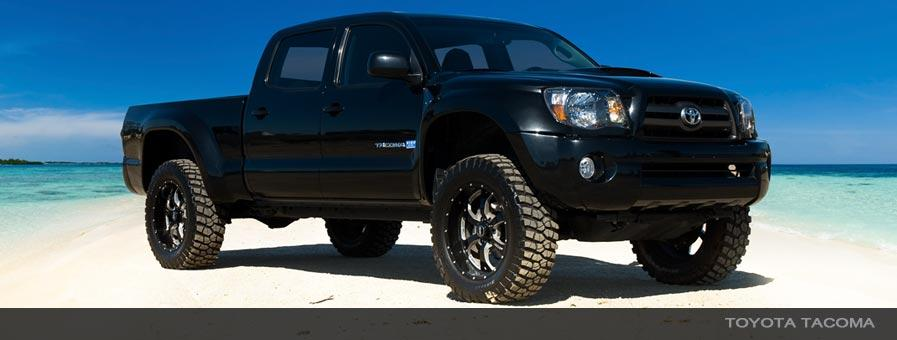 TACOMA 96-04 (6 LUG) FRONT 2.5 DIA. INTERNAL RESERVOIR  COIL-OVER