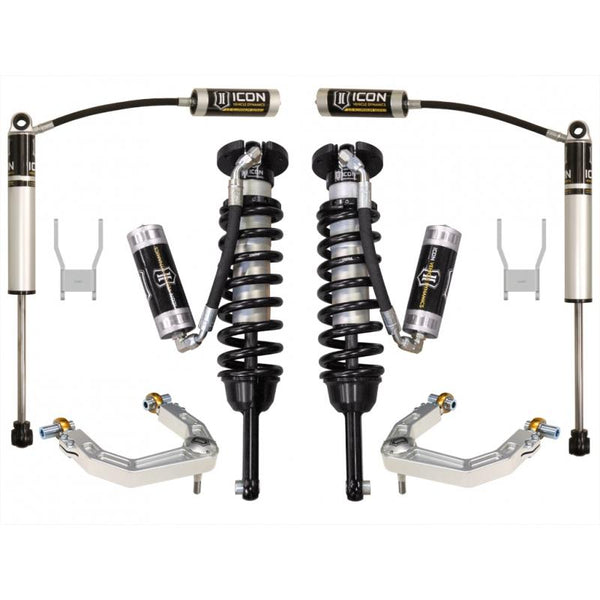 "05-15 HILUX 0-3"" STAGE 4 SUSPENSION SYSTEM W BILLET UCA"