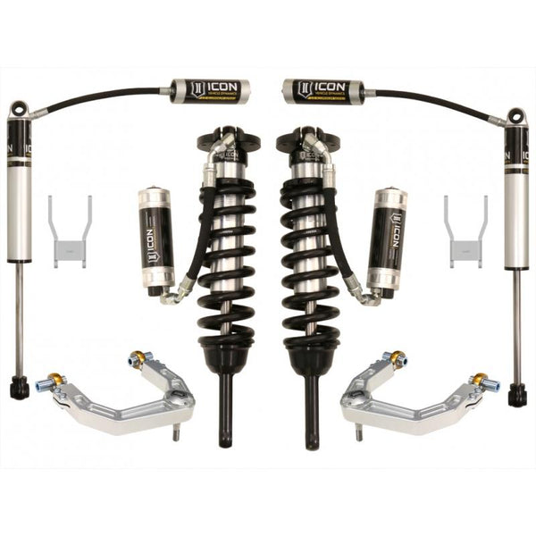 "05-15 HILUX 0-3"" STAGE 5 SUSPENSION SYSTEM W BILLET UCA"