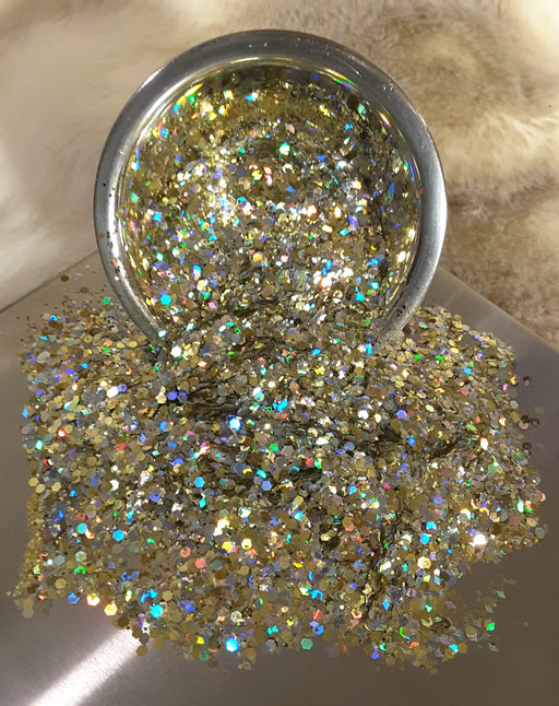 Vegas Nights Chunky Metallic Mix Glitter