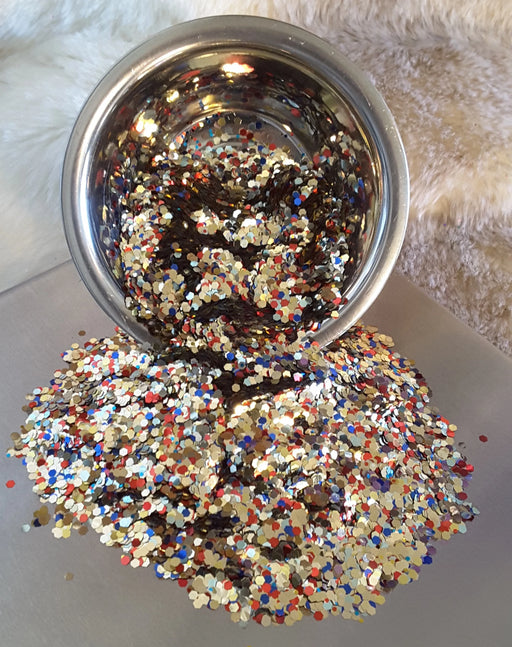 Circus Clowns Chunky Holographic Mix Glitter